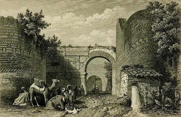 Lefke Gate by Charles Texier (1882).jpg