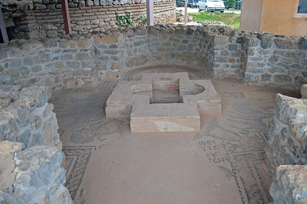 Ruins of Early Christian Church at Plaoš