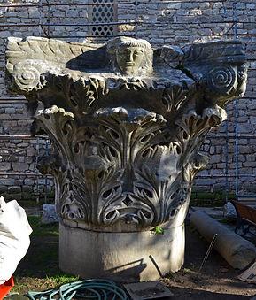 Capital in Courtyard of Topkapı Palace.j