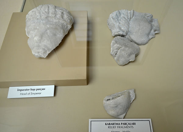 Relief Fragments from the Monastery of C