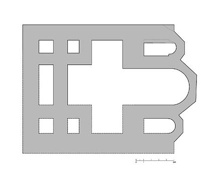 Hypothetical Reconstruction of Plan by M