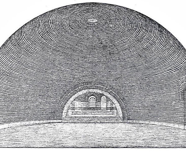 Apse and Dome Reconstruction by Schneide