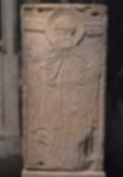 Relief icon of Hosios David in Thessalon