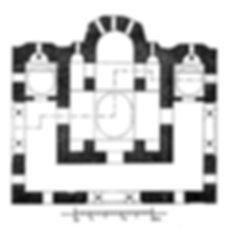 Reconstructed Plan of Vlatadon Monastery