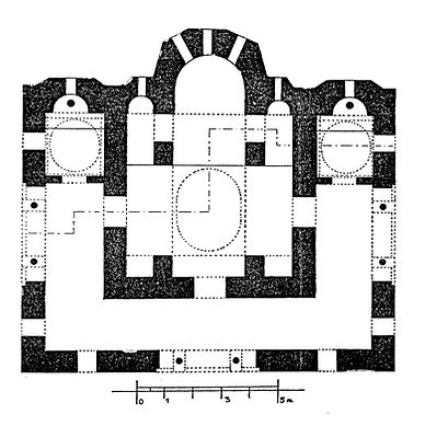 Reconstructed Plan of Vlatadon Monastery