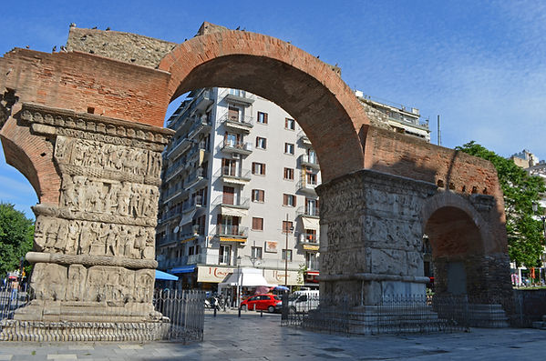 Arch of Galerius (Kamara) in Thessalonik