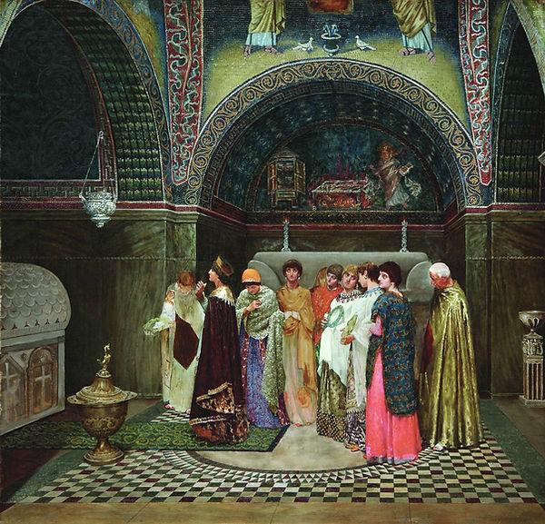 """""""Morning_entrance_of_Byzantine_empress"""