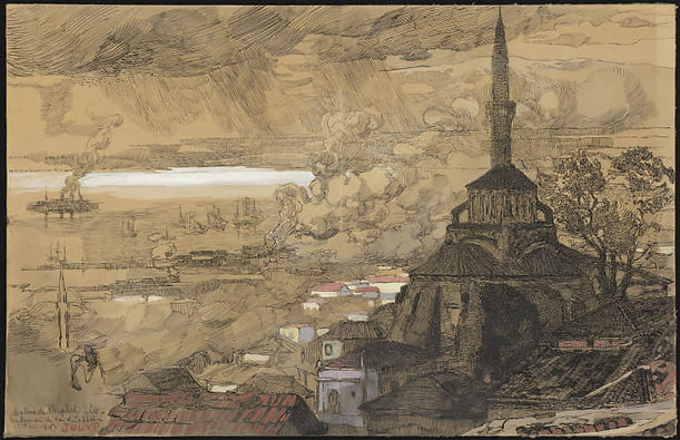 The_Church_of_the_Prophet_Élie,_1916_Pa