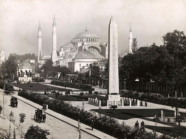 Photo of the Hippodrome and Hagia Sophia