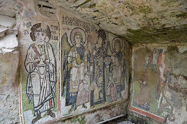 Mosaics of Church Amphitheater at Dyrrac
