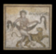 Mosaics with Dionysus