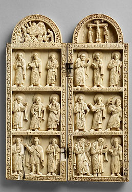 Diptych representing the Nativity, the C