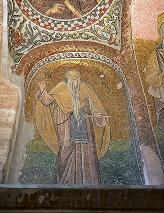 St. Euthymius in the southwestern vault