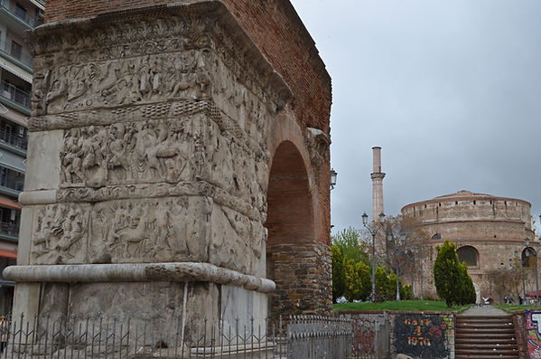 Arch of Galerius (Kamara) in Thessalonik