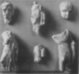 Fragments of Statuettes from the North C
