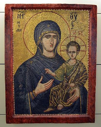 Mosaic Icon of Virgin Hodegetria (Early
