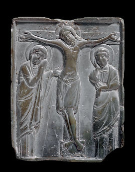 Steatite Plaque with Crucifixion Scene.j