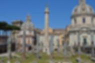 Column of Trajan and the Forum of Trajan