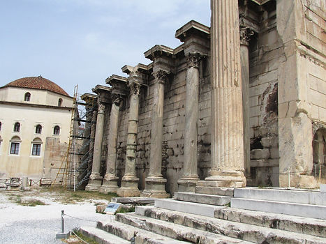 Library of Hadrian and its churches.jpg