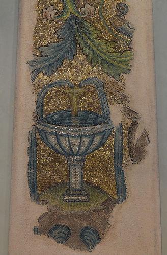 Wall Mosaic from Acheiropoietos Church (