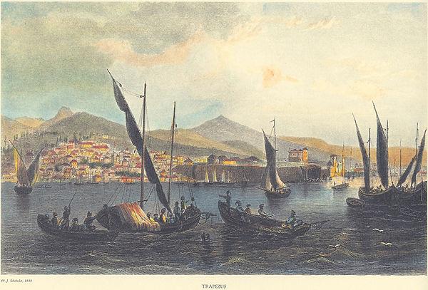 Port of Trebizond in 1840.jpg