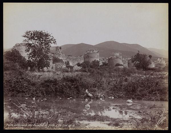 Iznik City Walls  1870s  G. Berggren Pho