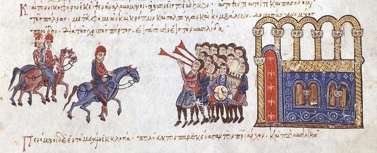 Entry of Nikephoros II Phokas into Const