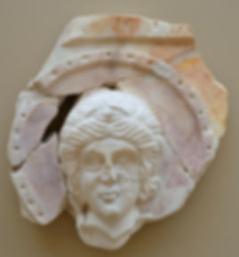 Relief fragment of the Head of St. Micha