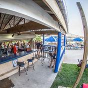 Blu's Bar Volente Beach View