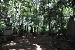 先代住職の墓所