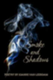 The cover of Smoke and Shadows, the new poetry collection by Joanne Van Leerda