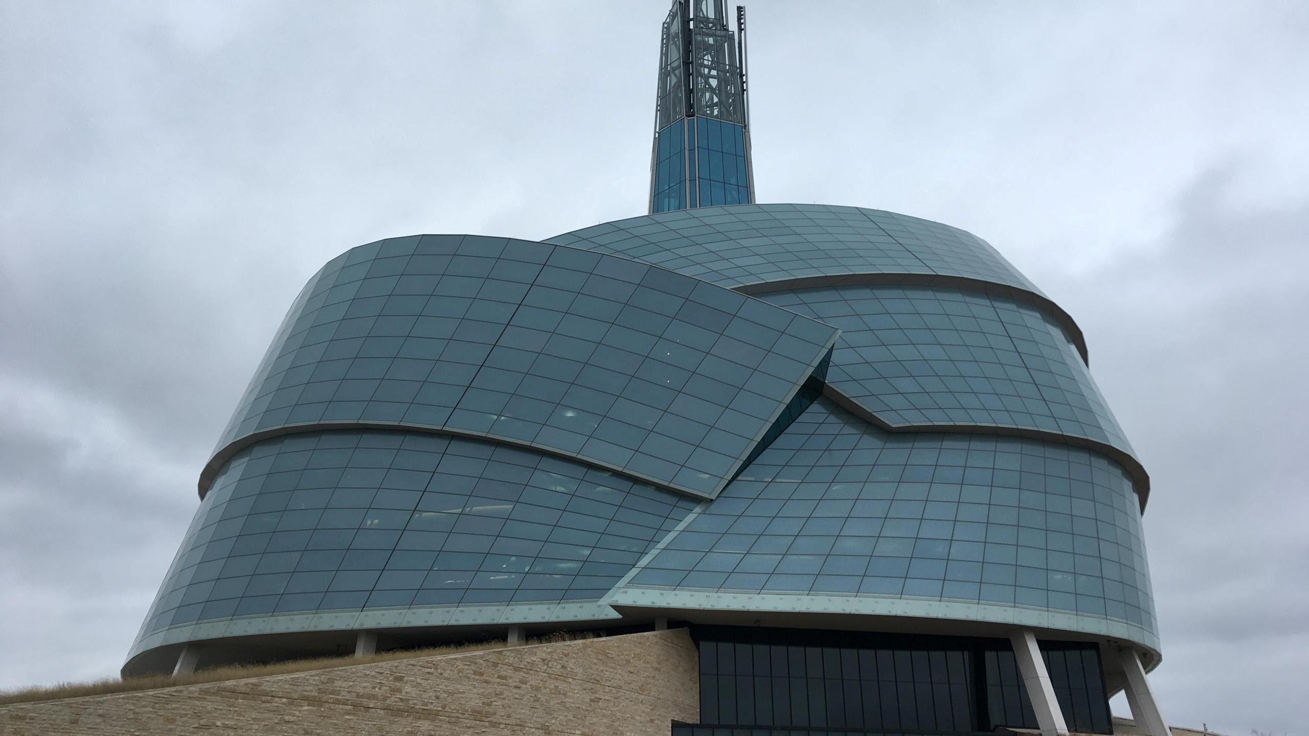 Canadian Museum of Human Rights in Winnipeg (over alle soorten van achterstelling/ongelijkheid)
