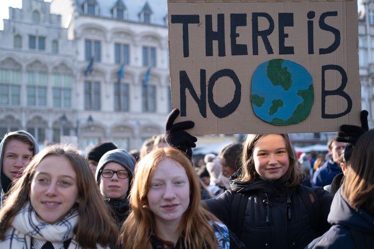 Jongeren namen deel aan meerdere klimaatacties