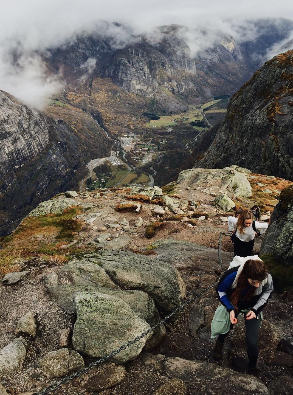 Kjerag hike - Norwegen