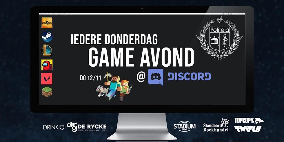 Gameavond Minecraft