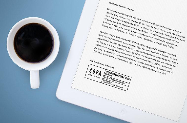 COPA email signature