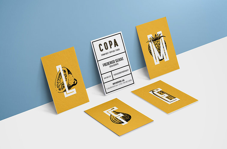 COPA business cards