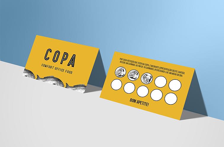 COPA cartão fidelização