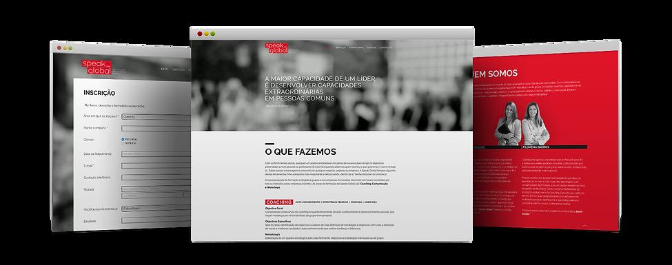 Speak Global site