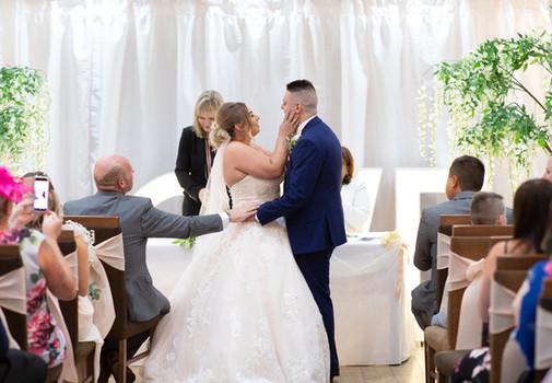 Wedding Photographer The White Hart Inn Alfreton Derbyshire