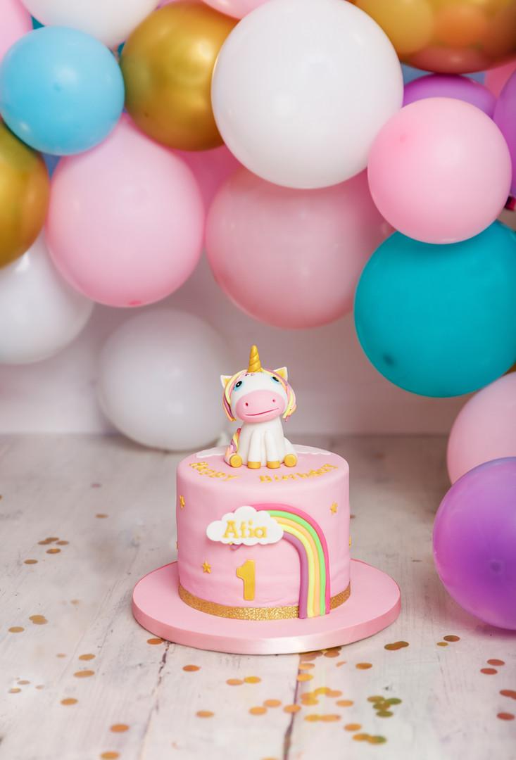 1st Birthday Cake Smash and Splash