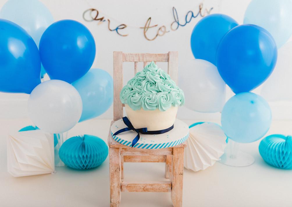 1st Birthday Cake Smash and Splash Chesterfield