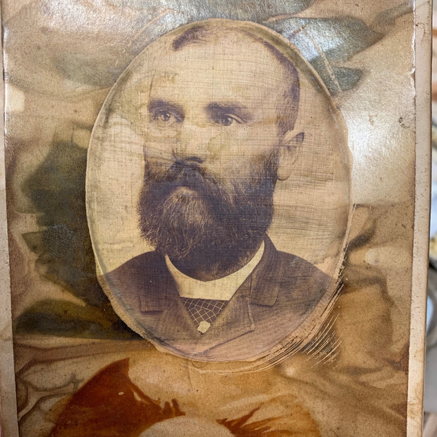 encaustic eco print ancestor art glenda