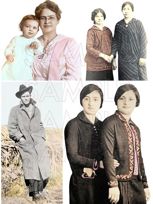 Tinted ancestors