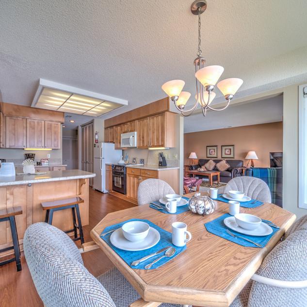 Condo 38 Dining Room:Kitchen:Living Room