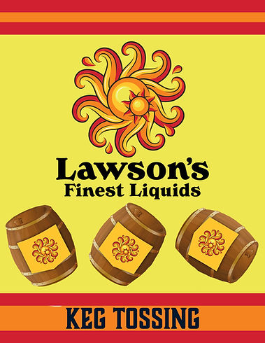 Lawsons finest keg tossing game image.jp