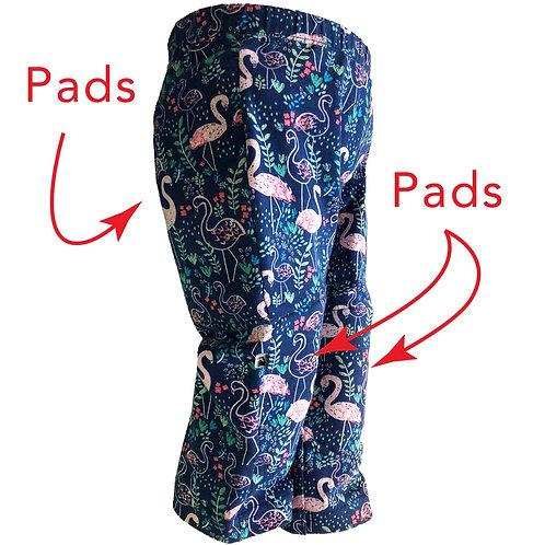 La Vie En Rose | Innovative 3D Padded Kids Pants | With sports Technology