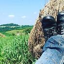 #westvirginia #countryroads #hay #rollin