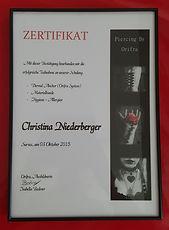 Piercing Zerifikat Chris von Orifra Willisau Sursee.jpg