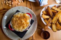 Mac -n- Cheese + Fries